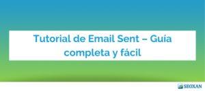 tutorial email sent