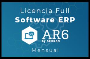 Licencia Software ERP - AR6 - Full (Mensual)