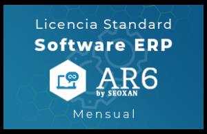 Licencia Software ERP - AR6 - Standard (Mensual)