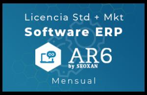 Licencia Software ERP - AR6 - Std+Mkt (Mensual)