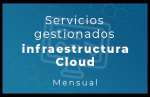 Servicios gestionados para infraestructura cloud (Mensual)