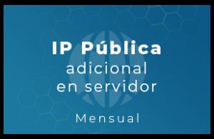 IP Pública adicional en servidor (Mensual)