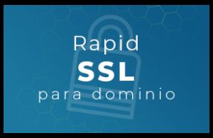 Rapid SSL para dominio
