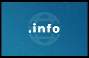 Contratación o renovación de un dominio .info